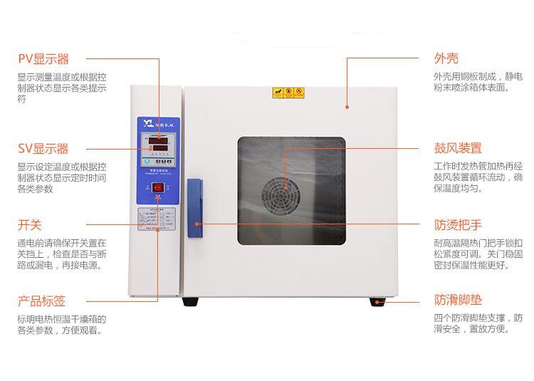 恒温烤箱细节图